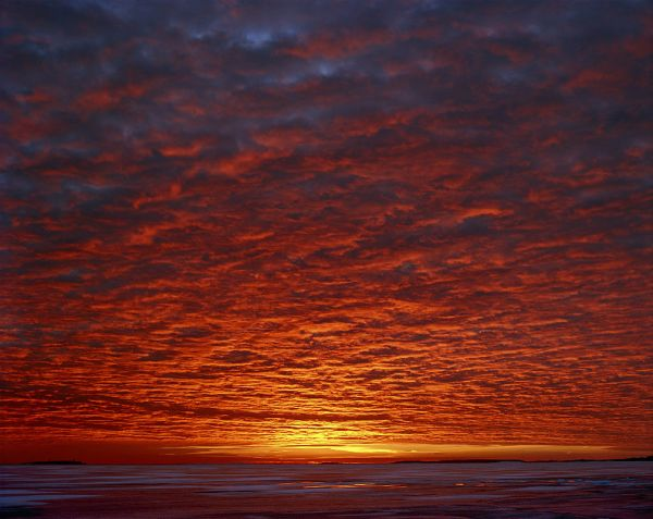 """Sunset"", 2002, 90 x 110 cm, c-print on aluminium, ed. 6"