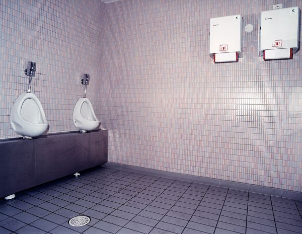 """19.5 1999 Stockmann department store, 7th floor toilet, male, cause of death: Heroin overdose"", 2002, 80 x 100cm, c-print, diasec, ed. 6"
