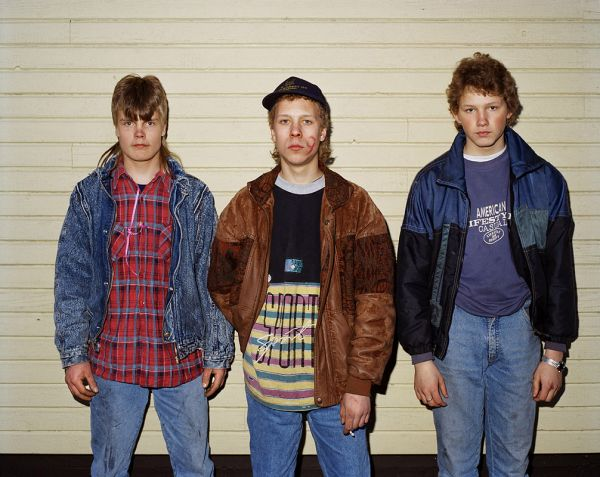 """Untitled"", 1996 from the series Young Heroes, 80 x 100 cm, c-print, ed.10"